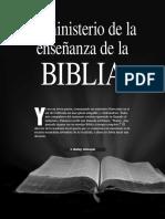 El Ministerio de La Enseñanza de La Biblia