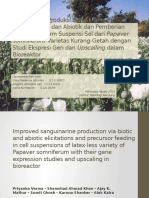 Peningkatan Produksi Sanguinarin Melalui Elisitasi Biotik Dan Abiotik