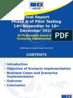 ACTS 15 15 Phse 1 Pesentationfinalreport