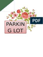 PARKING LOT 1.docx