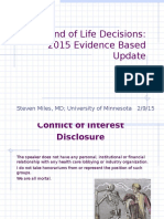 End of Life Decisions 2015 02