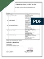 Civil Patent