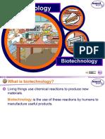 Biotechnology - Fermentation