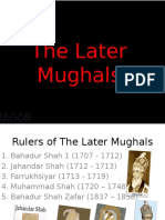 The Later Mughals