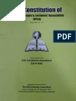 The Constitution of SPLA