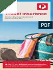 Auspost Travel Insurance PDS