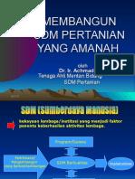 Bangun Sdm Perta Amanah THL PENYULUH & POPT Mar07 TAYANG