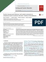 Teaching and Teacher Education Volume 50 Issue 2015 [Doi 10.1016_j.tate.2015.04.007] Misbah, Zainun; Gulikers, Judith; Maulana, Ridwan; Mulder, Marti -- Teacher Interpersonal Behaviour and Student m