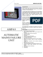 AMF 4.2 Technical Specifications - En