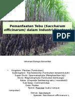 Pemanfaatan Tebu (Saccharum Officinarum) Dalam Industri