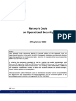 Network Code on Operational Security