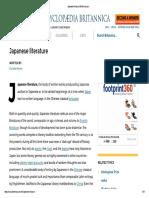 Japanese Literature _ Britannica