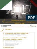 Bilan Et Orientations 2017 Pour Envoi