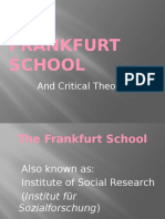 Teodorescu Frankfurt School