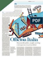"""Officina Italia, """"la Repubblica"""" 16 feb 17"""