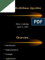 Diffie Hellman Algorithm Riley