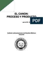 El Canon, Proceso y Producto
