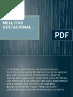 Diabetes Mellitus Gestacionalmel