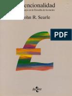 SEARLE, John. Intencionalidad.pdf