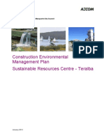 Sustainable Resource Centre Teralba - Construction Environmental Management Plan