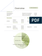 Appendix 5 - Pivot and Chart Budget