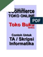 Web Contoh Toko Online - ERD Dan Analisis Sistem Informasi Penjualan Buku Online v1 Untuk Contoh TA dan Skripsi Informatika