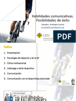 Habilidades Comunicativas. Posibilidades de Éxito