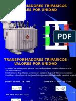 3.5-Transf. Trifasicos Valores Por Unidad