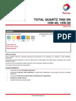 Total Quartz 7000 Sn 10w40-Product Sepc