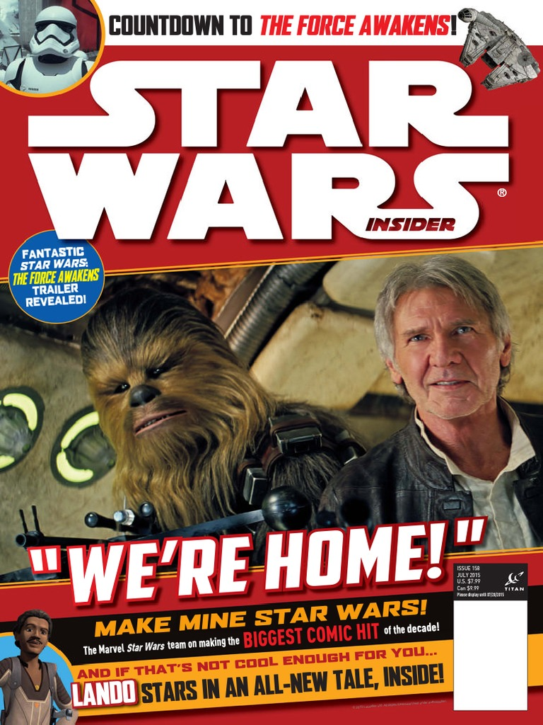Star Wars Insider July 2015 UK Star Wars