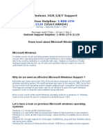 Things to remember while looking for Microsoft Windows Support