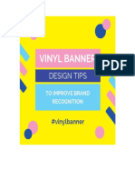 How to Choose a Best Vinyl Banner Design for Business Events