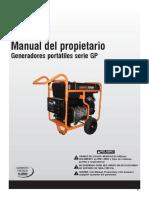 Manual Generac Gp15000