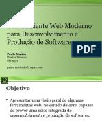 Otimizando o seu ambiente online para o desenvolvimento de software