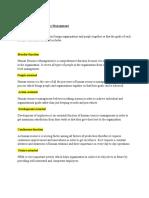 Nature of Human Resource Management.docx