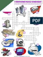 computer parts esl vocabulary criss cross crossword puzzle worksheet.pdf