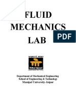 FLUID MECHANICS lab manual.docx