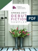 Spring 2017 Debut Fiction Sampler