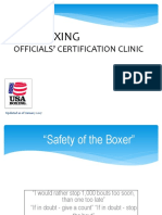 2017 USA Boxing Official Certification Clinic PDF