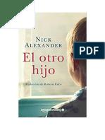 Alexander Nick - El Otro Hijo