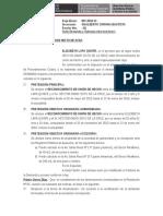 MODELO ESCRITO DE Subsanacion de  Observaciones Reconocimiento Union Hecho