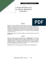 La lectura del filme en el aula saberes, dispositivos y procesos.pdf