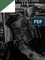 Sobre Noam Chomsky Ensayos Críticos