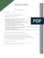 Modelo de Curriculum Simplificado
