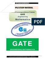 GATE Engineering Mathematics Material