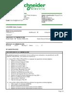 TE527 - Cambio Parametros en Plantillas CENTRO INDUSTRIAL