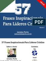 eBook 57 Frases Inspiracionais Para Líderes Cristãos