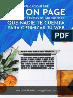 Aplicaciones SEO on Page Final