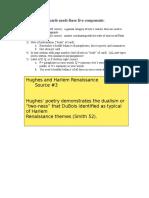 notecard formatting