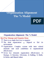 7s Model and Org Structure